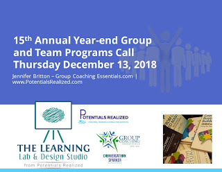 15th Annual Year End Group Programs Call with Jennifer Britton