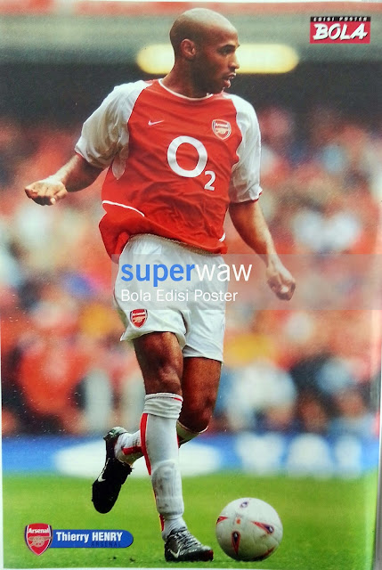 Poster Thierry Henry (Arsenal)