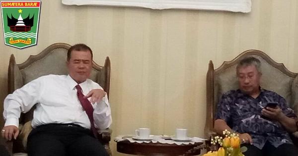 Pemprov Sumbar Jalin Kerjasama Balitbang ESDM terkait Pasokan Listrik ke Teluk Tapang