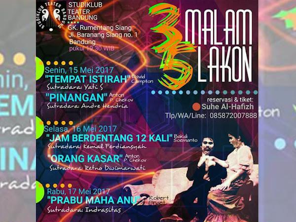 3 Malam 5 Lakon StudiKlub Teater Bandung