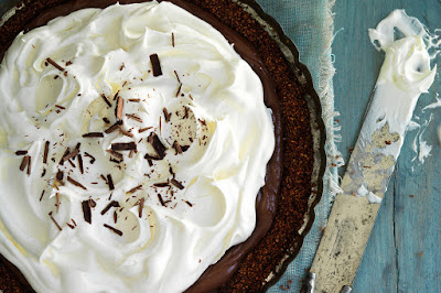 International food blog: AMERICAN: Chocolate Pies from Epicurious
