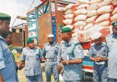 The Nigerian Customs seize N783m smuggled goods in three weeks