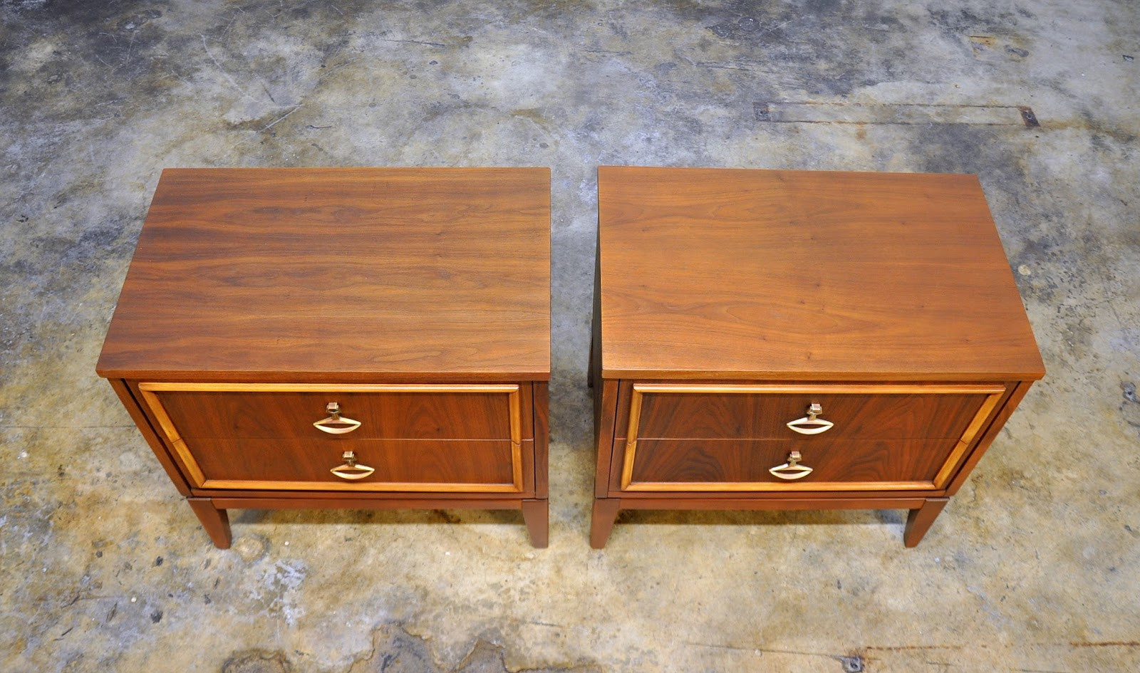 SELECT MODERN: Pair of Dixie Nightstands, Bedside, Side or ...
