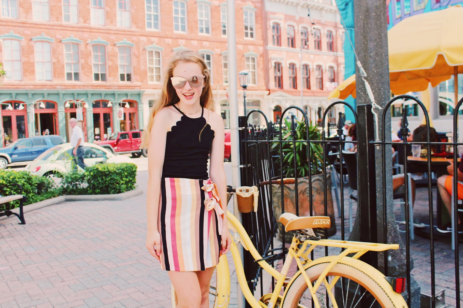 Galveston Travel Guide // The Strand Galveston summer outfit urban outfitters