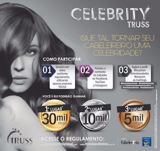 Concurso Celebrity TRUSS - Concurso para Cabeleireiro