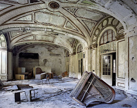 Ballroom, Lee Plaza Hotel.  Part of The Ruins of Detroit by Yves Marchand and Romain Meffre, 2006. With kind permission from the artists and assistance from Tristan Hoare Gallery.