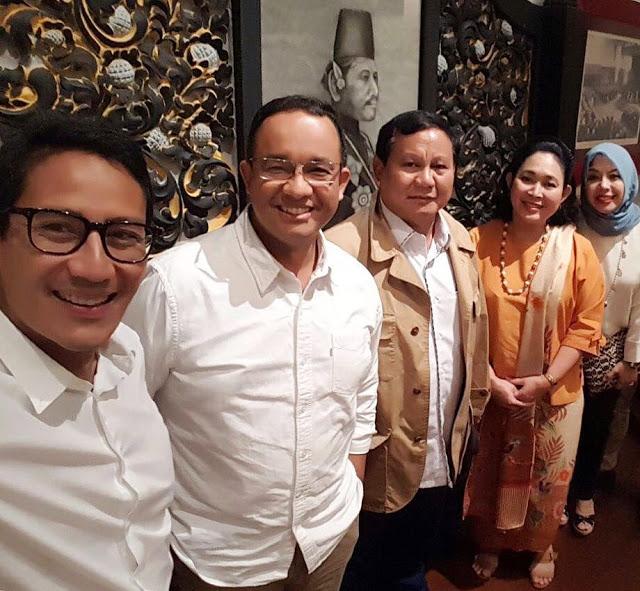 Pilgub DKI dibumbui kisah cinta Prabowo dan Titiek Soeharto