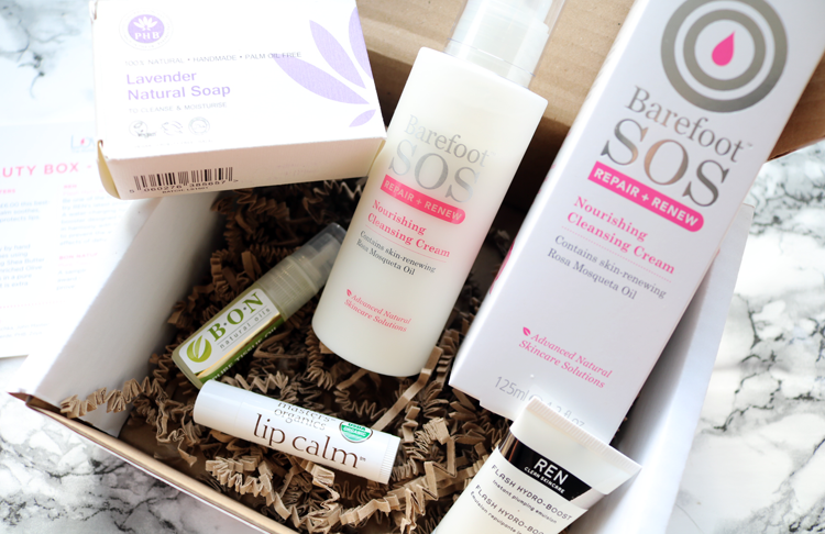 Love Lula Beauty Box - October 2016 review