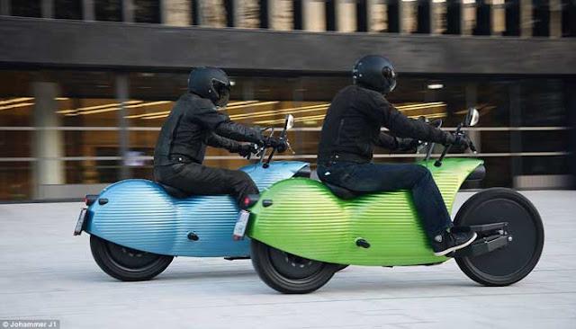 TESLA, Sepeda Motor Listrik Masa Depan