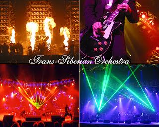 4 photos du Trans-Siberian Orchestra