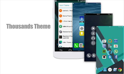 L Launcher Pro Lollipop Theme Versi 2.0