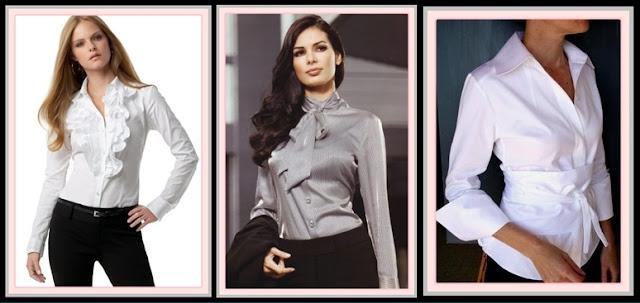 Blusa camisa Blanca