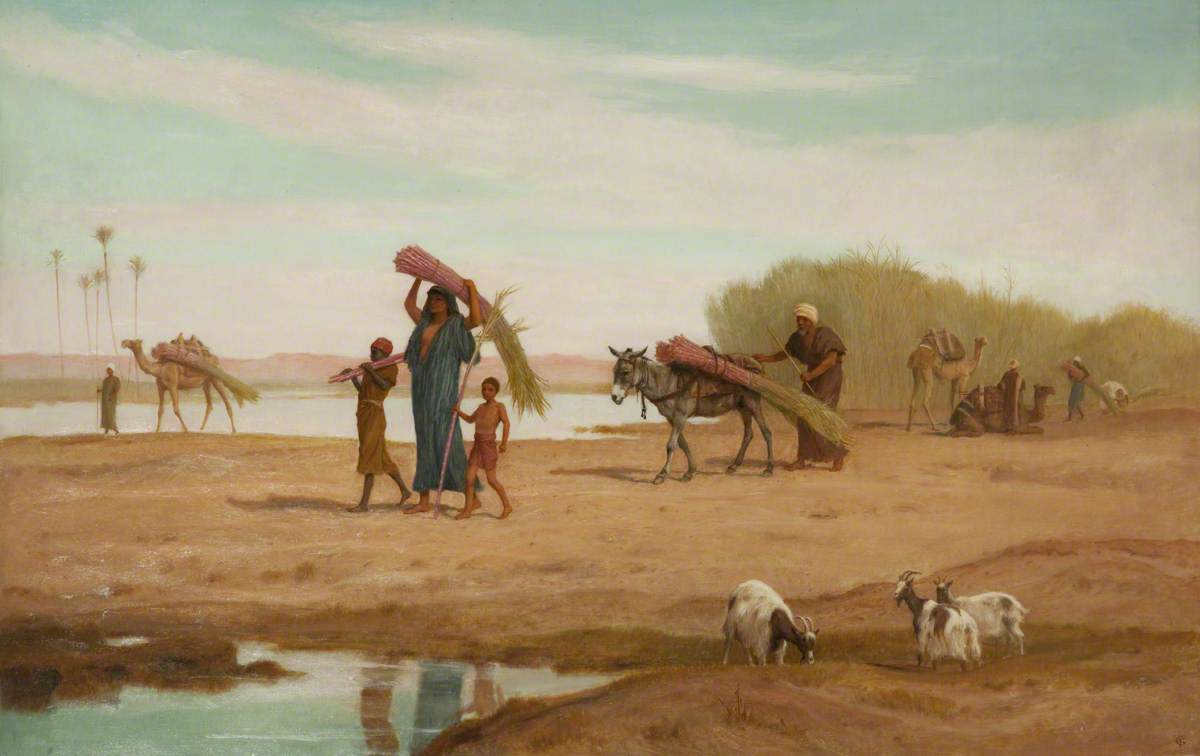Frederick Goodall - An Orientalist English Painter (1822-1904)