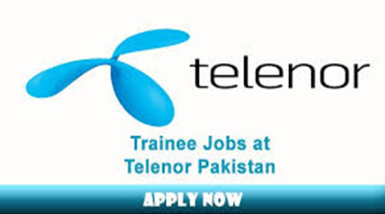 Telenor Pakistan professionals Jobs May 2017