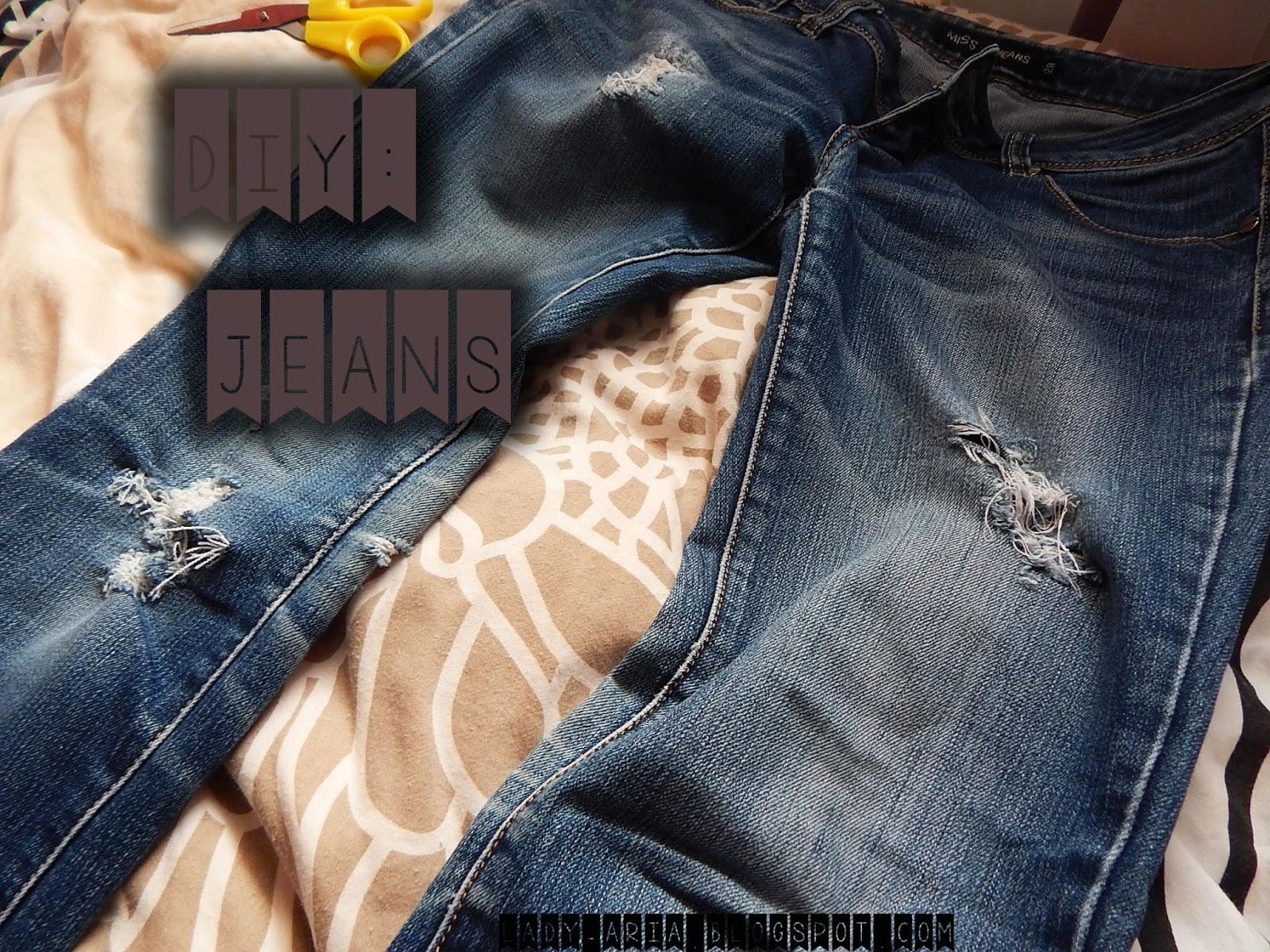 ~129 DIY: Jeans