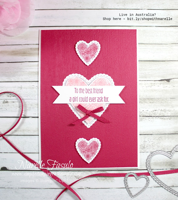 Create gorgeous cards for any occasion, quickly and easily with our amazing range of products. See the full range here - http://bit.ly/shopwithnarelle