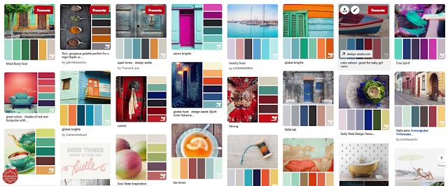 color inspiration for the creative