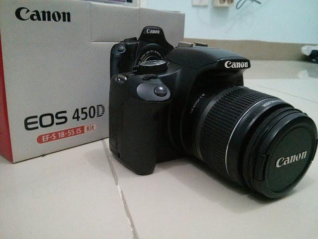 Harga Kamera Canon EOS 450D