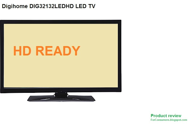 Digihome DIG32132LEDHD LED TV specs and review