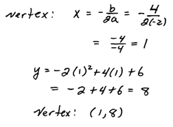 OpenAlgebra.com: Chapter 9 Sample Test Questions