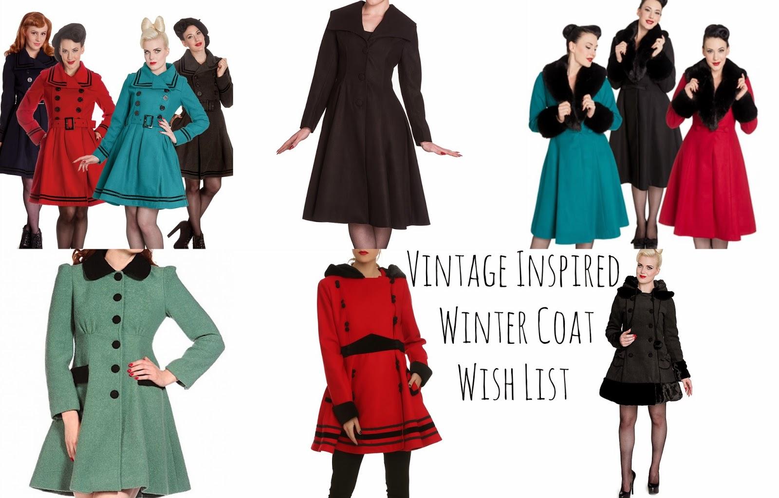 Vintage Inspired Coat 100