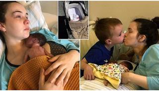 Μητέρα γέννησε νεκρό μωρό και πέρασε 2 εβδομάδες μαζί του για να του προσφέρει το χάδι και την αγκαλιά της