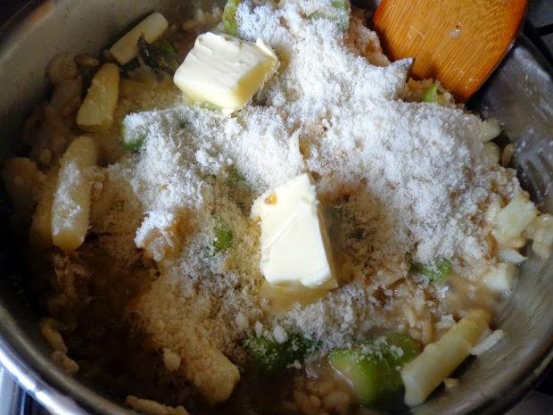 Asparagus risotto by Laka kuharica: