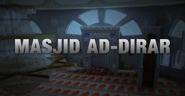 Rasulullah Perintahkan Bakar Masjid yang Dibangun untuk Memecah Belah Umat Islam