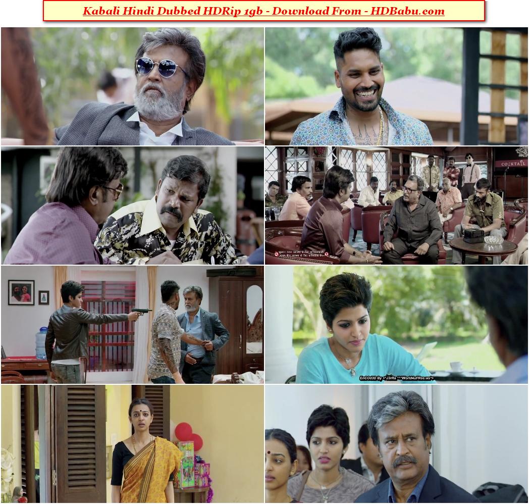 Kabali Hindi Dubbed Movie Download