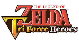 Imagen con el logo de The Legend of Zelda: TriForce Heroes (Nintendo 3DS, 2015)