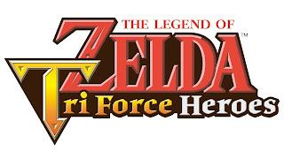 Imagen con el logo de The Legend of Zelda: TriForce Heroes (Nintendo 3DS, 2015)