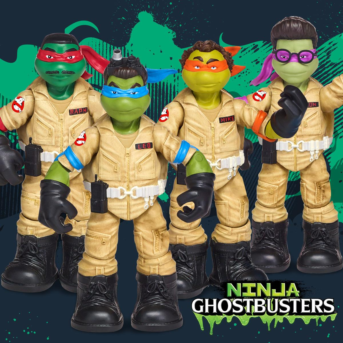 NickALive!: Playmates Toys Unveils Ghostbusters x Teenage ...