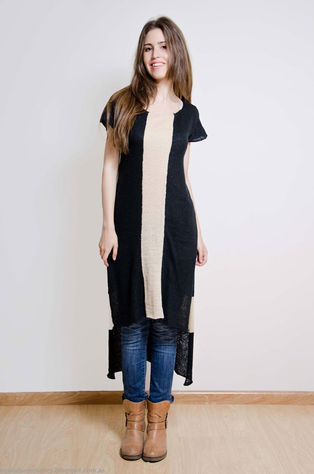Moda otoño invierno 2016 Tejidos Lares. Moda sweaters invierno 2016.