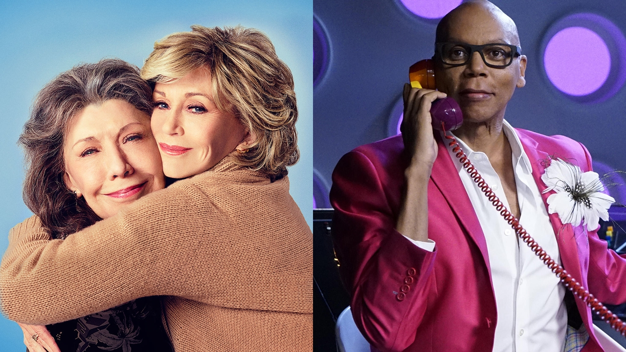 'Grace and Frankie' terá quinta temporada com RuPaul no elenco