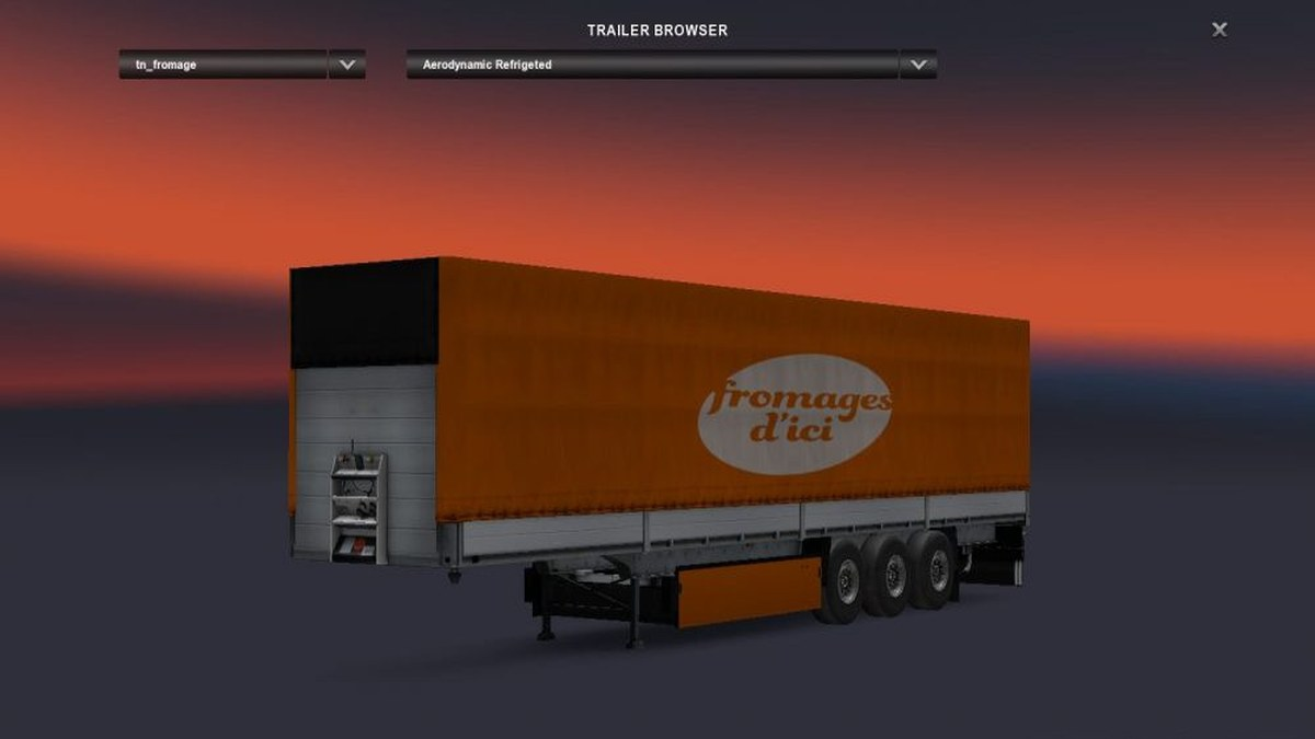Standalone Fromage Trailer