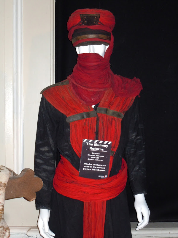 Red warrior costume The Mummy Returns