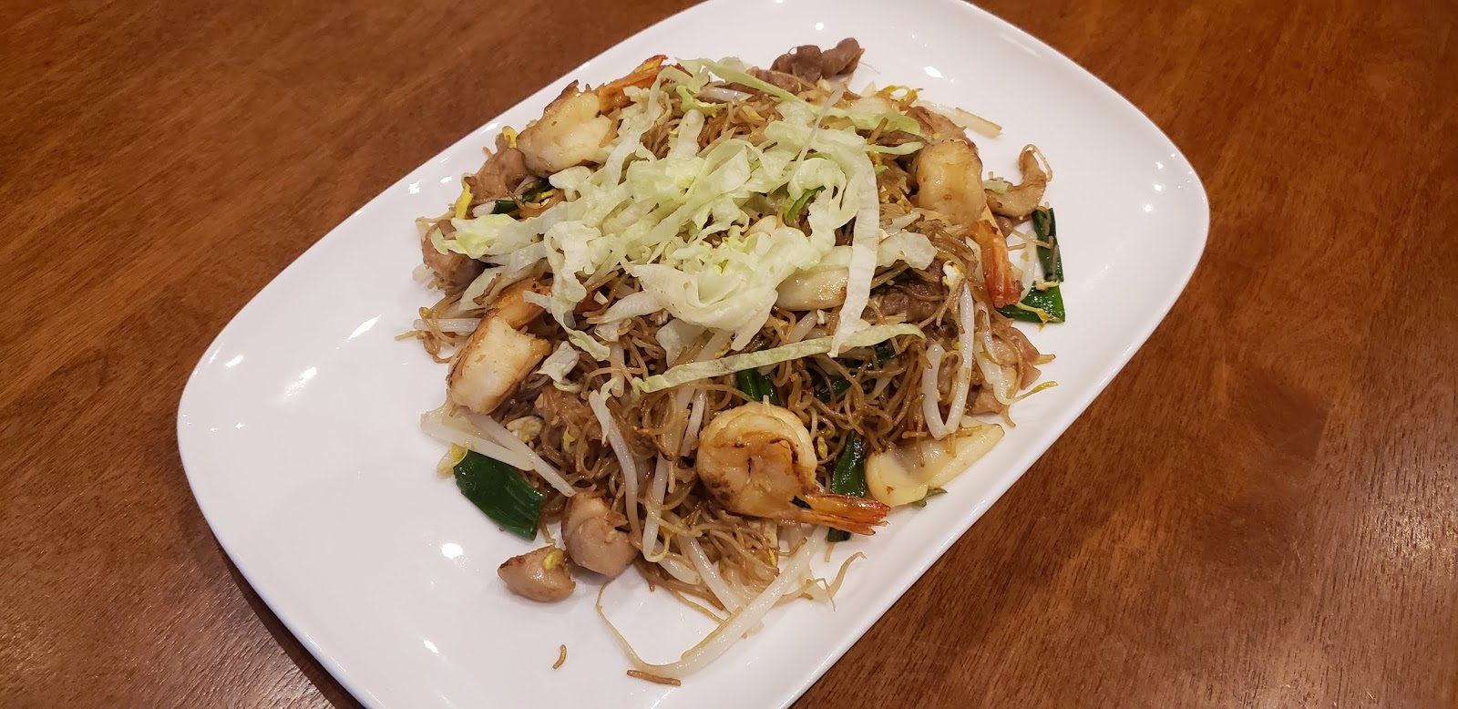 Salted Fish Fried Rice Noodle