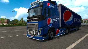 Pepsi Drink pack for Volvo 2012