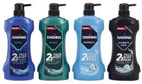 Dashing 2 In 1 Face & Body Wash Terbaru