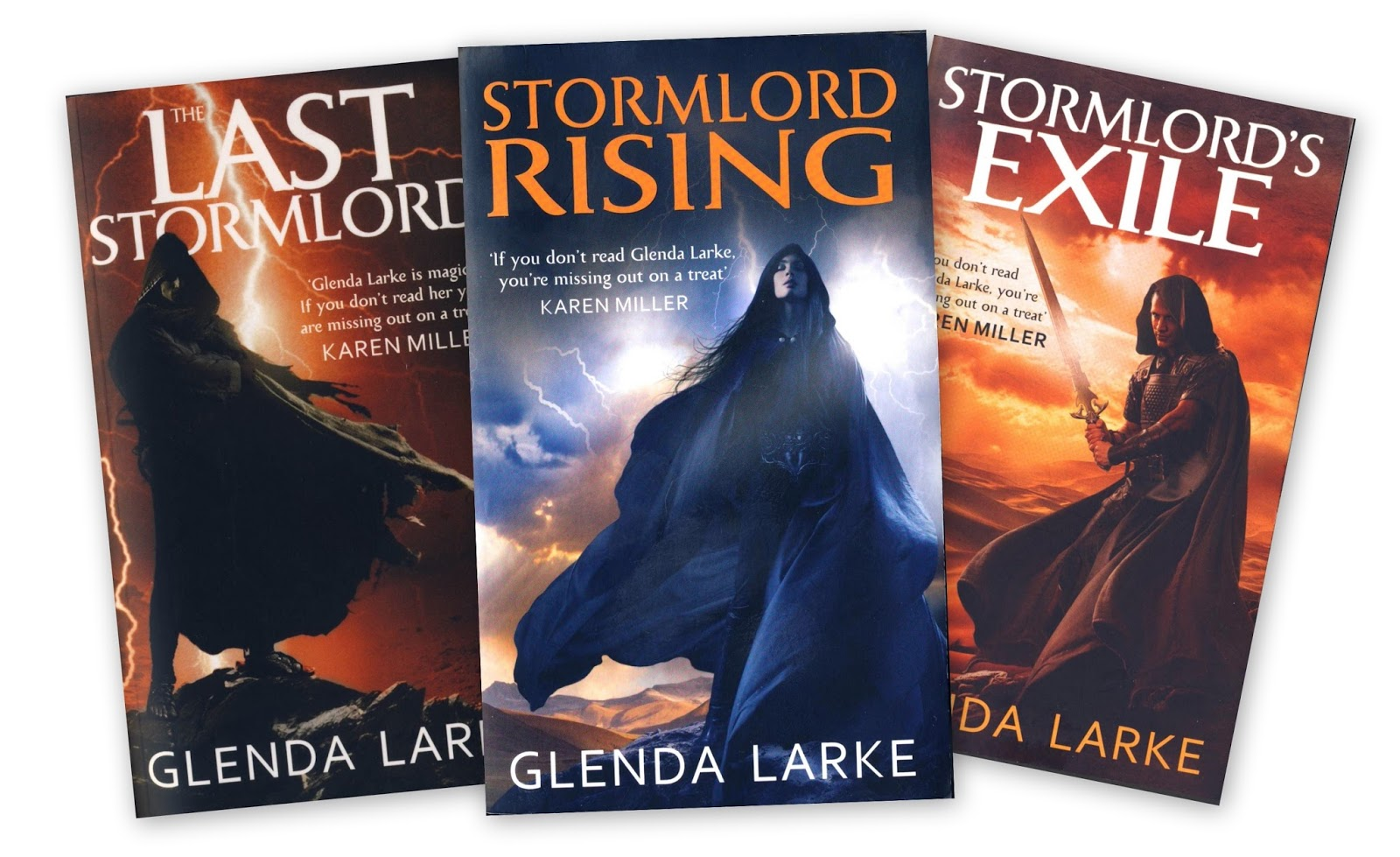 And Yes, Like Every Book Of The The Stormlord Trilogy Which Ultimately Won  The Sara Douglass Series Award, All Three Of The Forsaken Lands Trilogy  Have Been