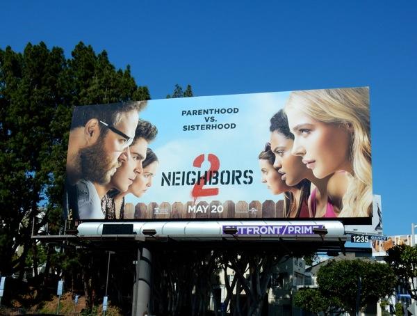 Neighbors 2 Sorority Rising billboard