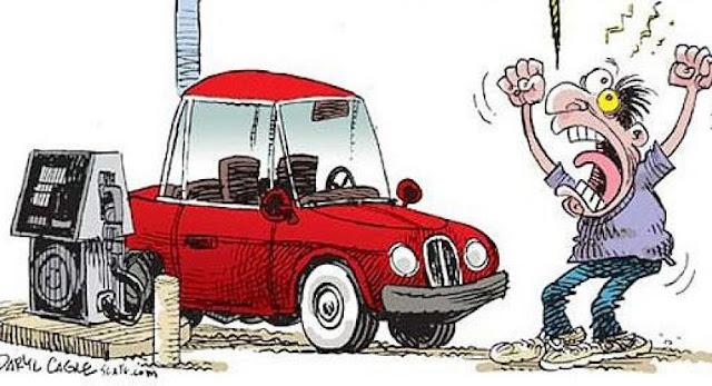 Resultado de imagen para caricatura combustibles