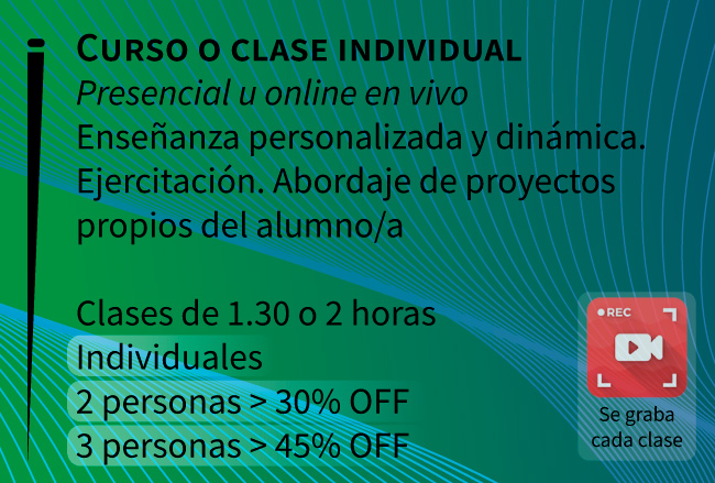 Clases de Photoshop e Illustrator, zona norte, Vicente Lopez