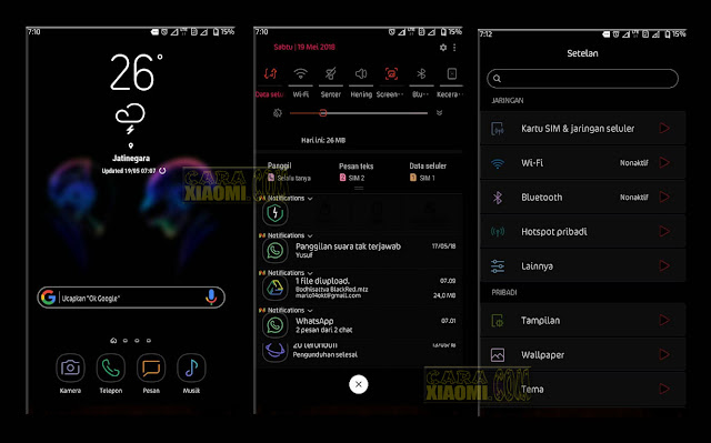 Download Thema Xiaomi Bodhisattva mtz black red Tema Terbaru For Xiaomi  Tema MIUI Bodhisattva Black Red Neon Mtz For Xiaomi Redmi New Themes