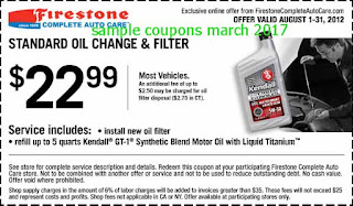 Firestone coupons for march 2017