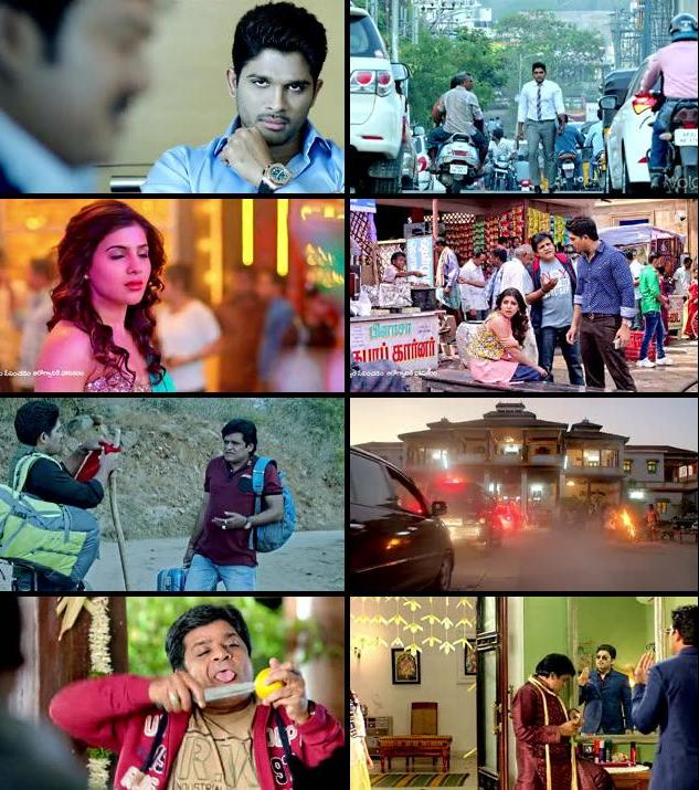 Son Of Satyamurthy 2015 UNCUT Dual Audio Hindi 480p BluRay