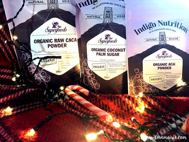 Festive Vegan Doughnuts with Indigo Herbs | Indigo Herbs Packaging | Love, Maisie