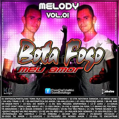 CD MELODY 2017 l BOTAFOGO VOL.01