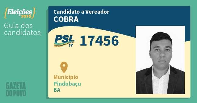 VIDENTE DE ARUJÁ ANDERSON FREITAS BARBOSA PASSOS - VEREADOR - PRP / PSL / DEM - PINDOBAÇU - BA
