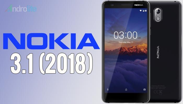 HMD Global kembali meluncurkan handset terbaru yakni Nokia  Harga Nokia 3.1 (2018) - Ponsel Murah, Spesifikasi Unggulan